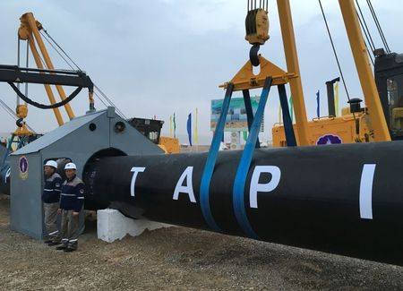 Turkmenistan officials due in Afghanistan as Taliban back TAPI gas pipeline